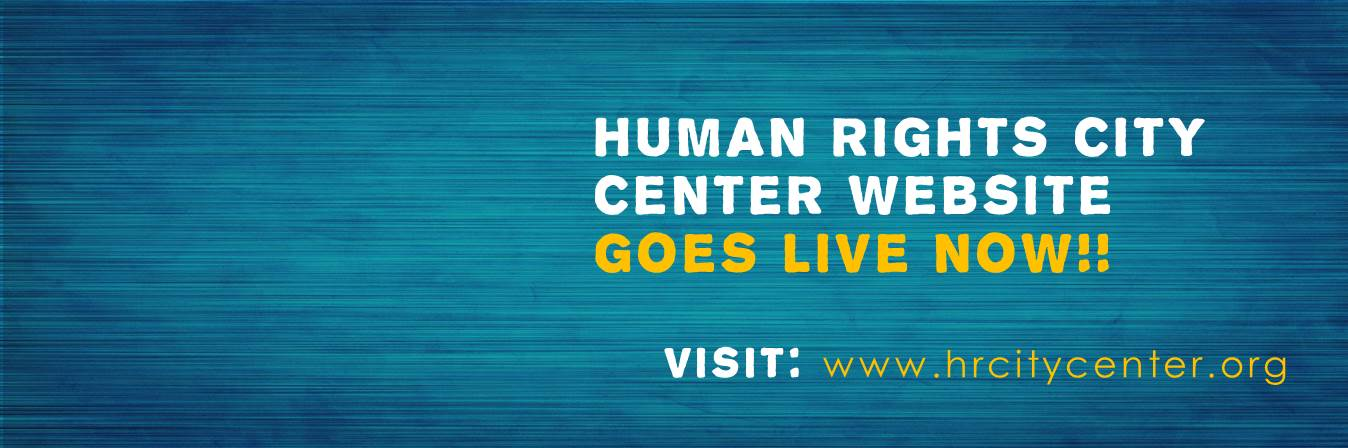 Human Rights City Center website goes LIVE!