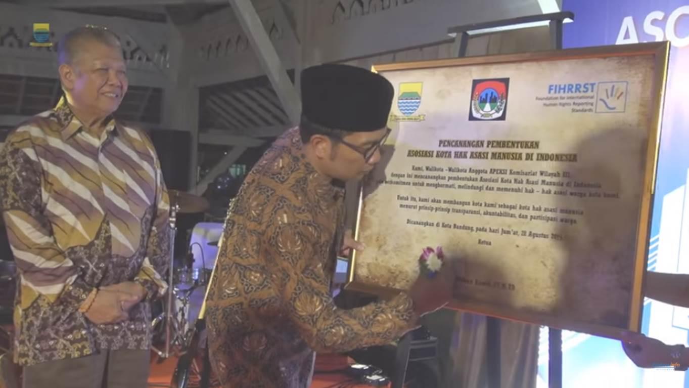 Pencanangan Pembentukan Asosiasi Kota HAM di Indonesia